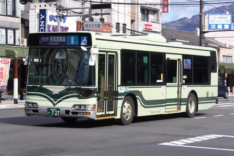 京都市交通局 京都200か・727 日野KL-HU2PMEE