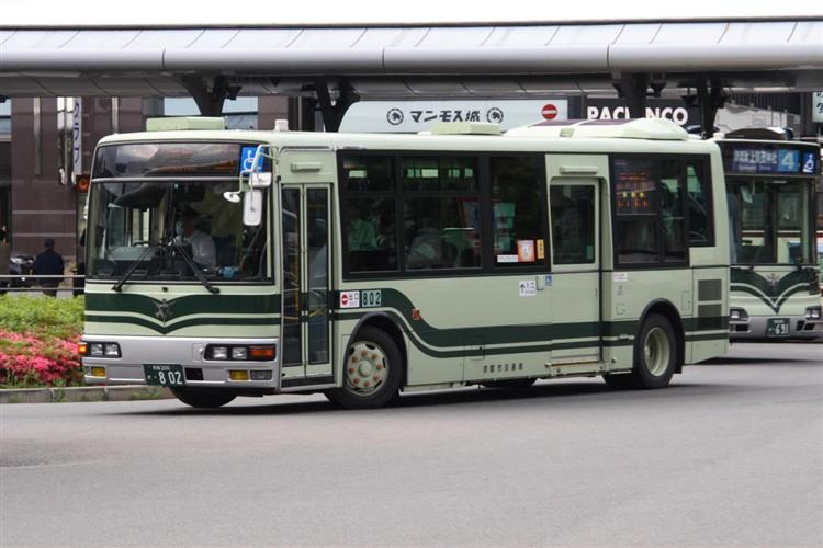 京都市交通局 京都200か・802 三菱KK-MJ27HL