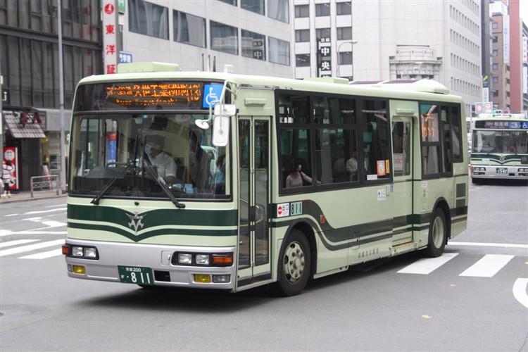 京都市交通局 京都200か・811 三菱KK-MJ27HL