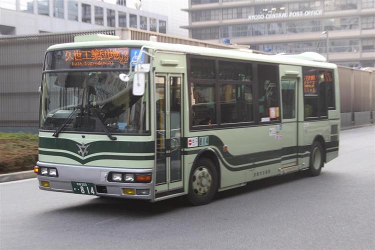 京都市交通局 京都200か・814 三菱KK-MJ27HL