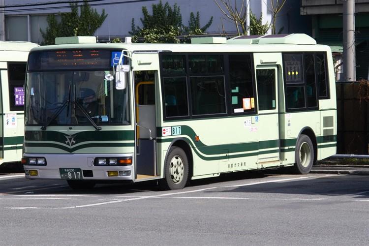 京都市交通局 京都200か・817 三菱KK-MJ27HL