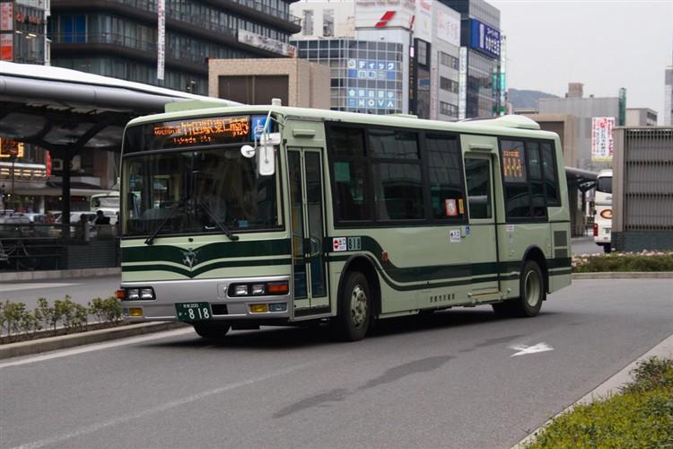 京都市交通局 京都200か・818 三菱KK-MJ27HL