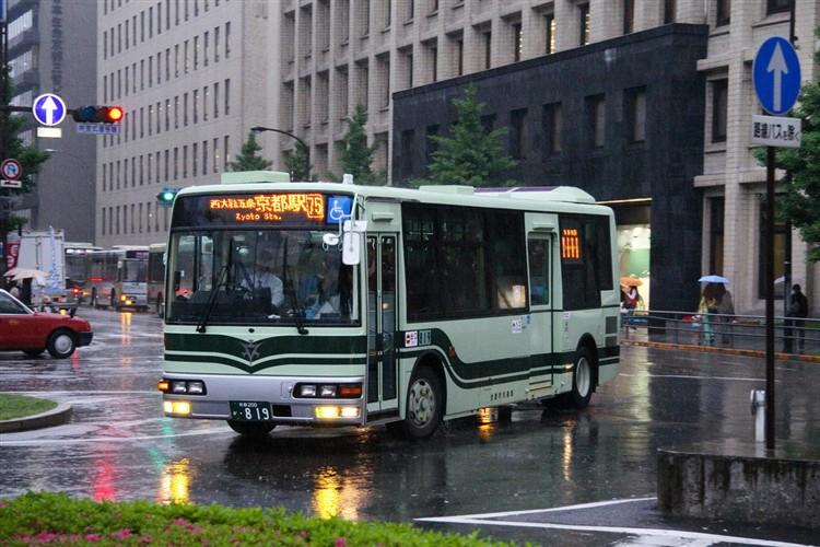 京都市交通局 京都200か・819 三菱KK-MJ27HL