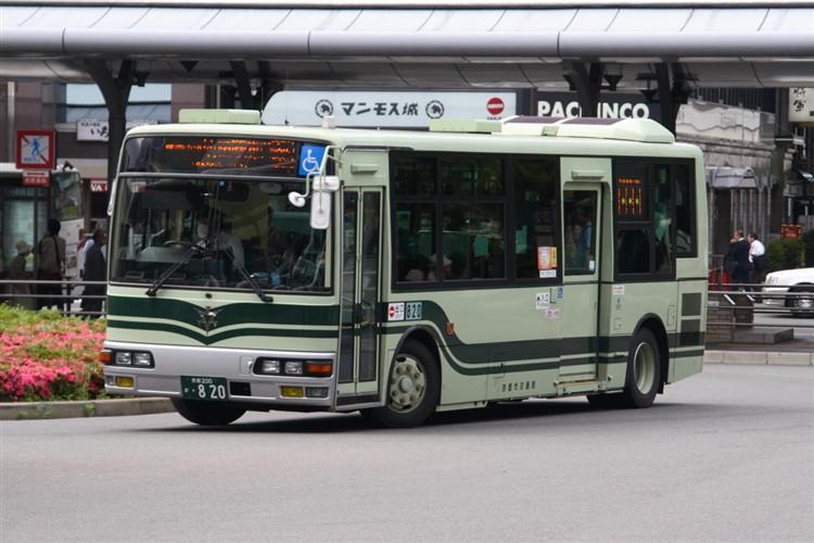 京都市交通局 京都200か・820 三菱KK-MJ27HL