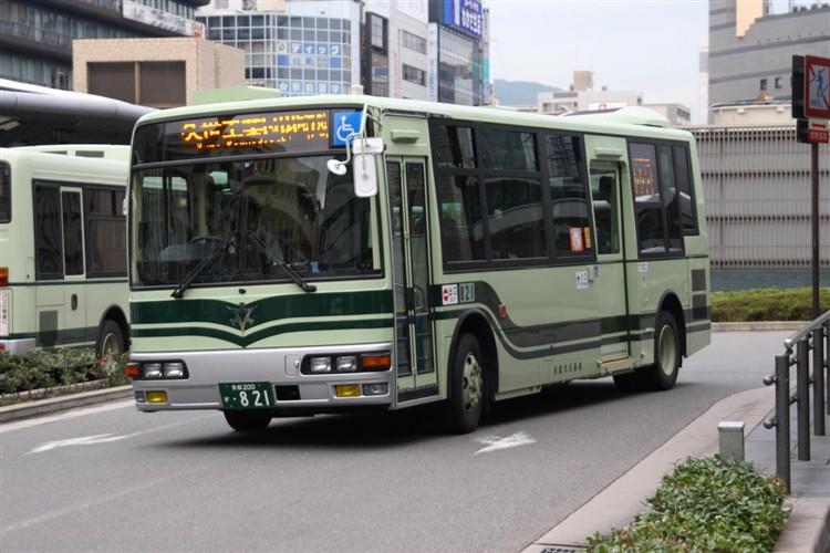 京都市交通局 京都200か・821 三菱KK-MJ27HL