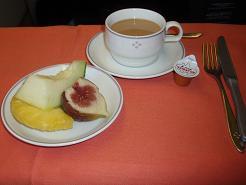 機内食 デザート