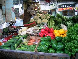 野菜の屋台 2006