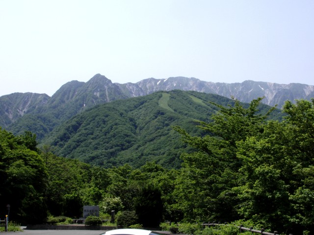 大山の景色・其乃壱