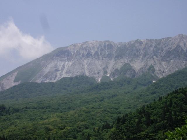 大山の景色・其乃八
