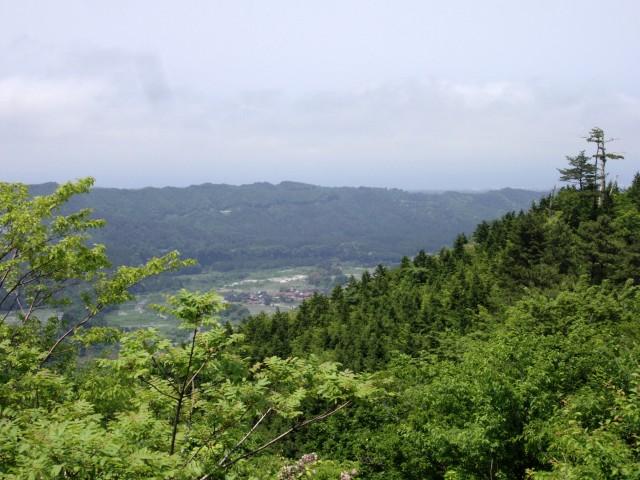 大山の景色・其乃拾
