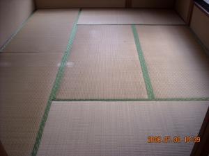 フローリング張替前の畳1