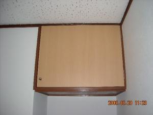 吊り戸棚開き戸交換取付