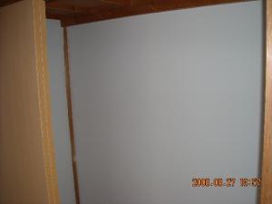 壁紙張替(クロス張替)押入れ→クローゼット壁面