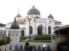 モスクー、またムスリムの国にきたって感じがするね