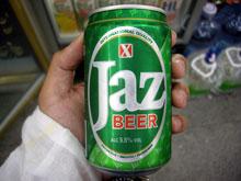 初見、JazBeer マレーシアはやっぱりアルコールは高いんだがねー