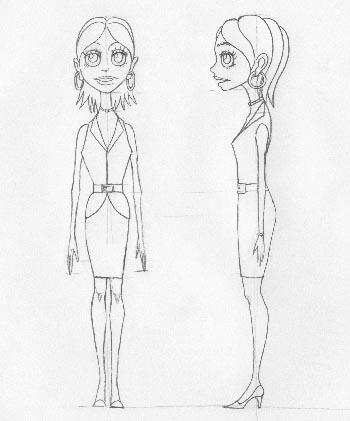 キャラクター(女性)