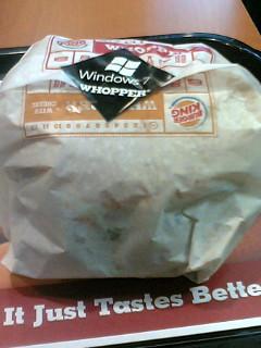 重いハンバーガーこ..