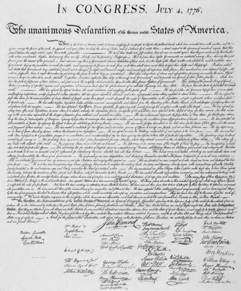 独立宣言文書