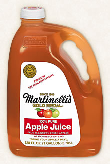 Martinelli's Apple Juice 3.6リットル