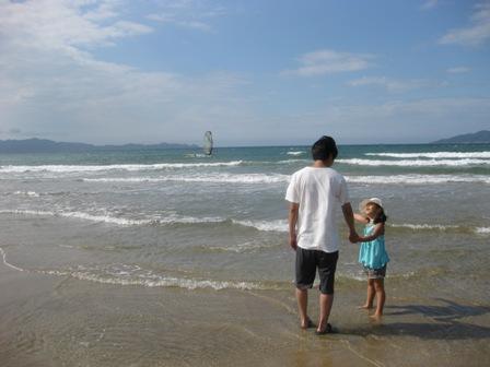 2008年夏の海にて。。。