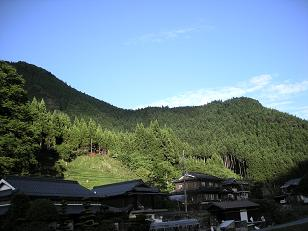 豊楽周辺の景色