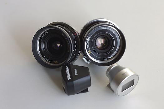 SKOPAR 21mm & 35mm