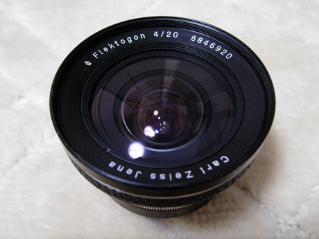 Carl Zeiss Jena  Flektogon 20mm F4