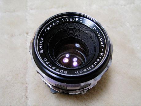 Schneider-kreuznach Edixa-Xenon 50mm F1.9