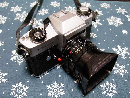 LEICAFLEX SL  Leitz ELMARIT-R 28mm F2.8