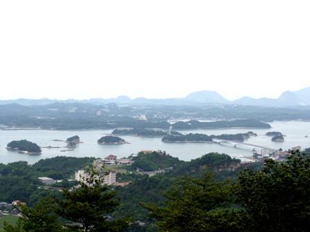 千巌山から松島P1010310