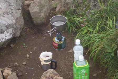 山頂でコーヒーCIMG0041