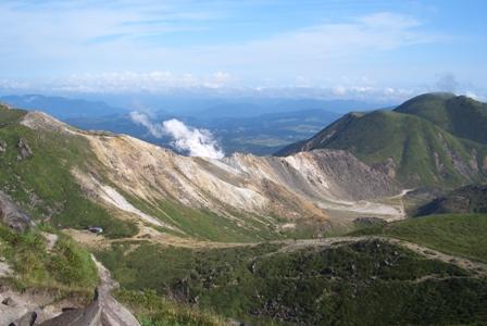 久住山山頂から硫黄山CIMG0037