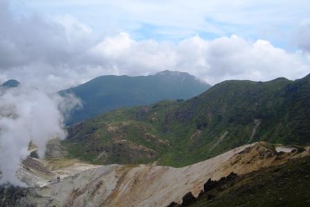 星生山山頂から大船山CIMG0092