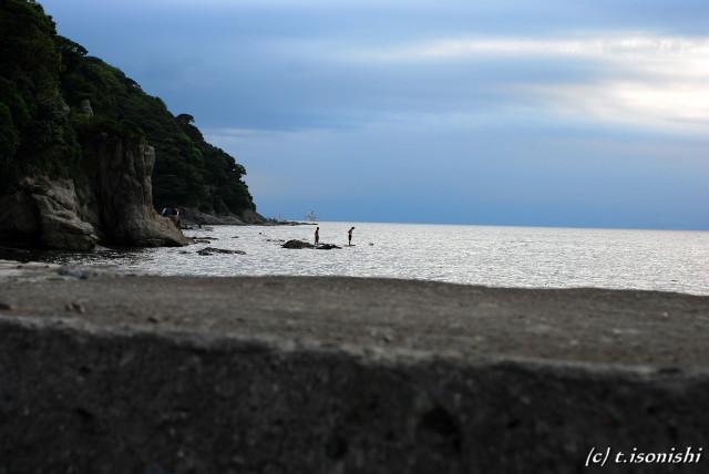 海で遊ぶ(2008/8/10)