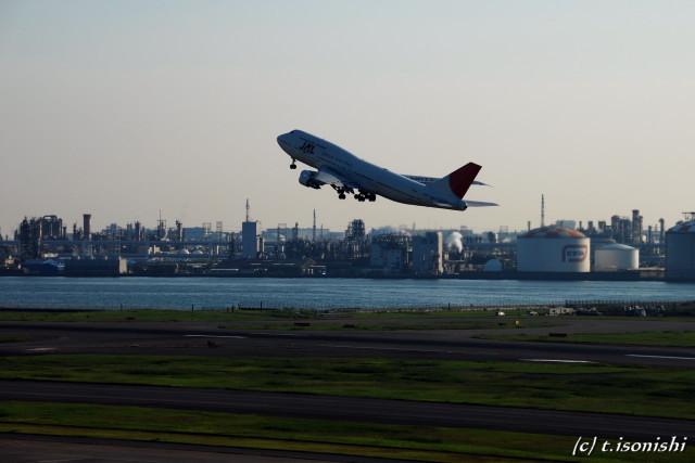 離陸(2008/10/4)