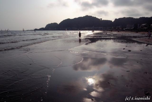 由比ガ浜(2008/9/6)