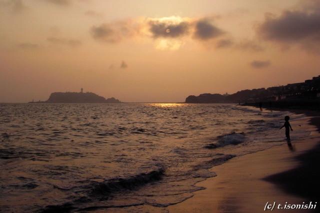 七里ガ浜(2008/9/6)