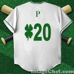 背番号20