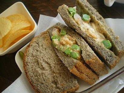 海老のサンドイッチ