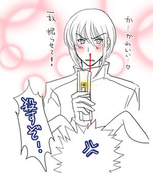 鼻血フォー!(今までの人生で一番鼻血を描いてます)