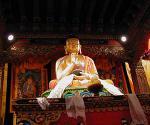 ブータン館の仏像