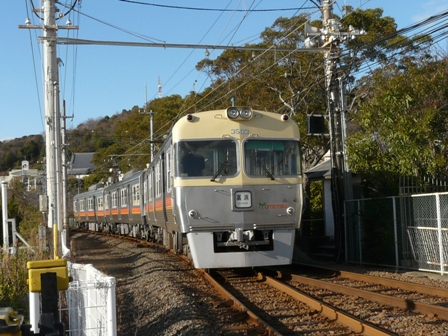 梅津寺 電車 (3000系)
