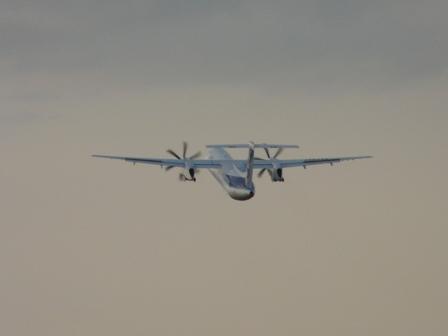 ANA・ボンバルディアDHC8-Q400 4