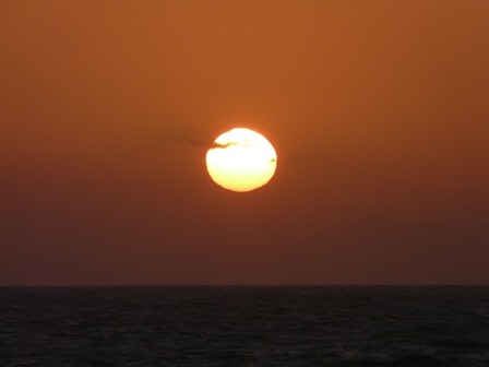 塩屋海岸 夕景 5