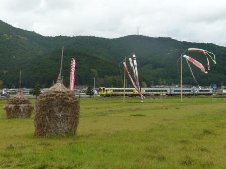 伊予石城駅付近 アンパンマン列車 1