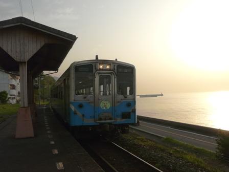 下灘駅 キハ54形 2