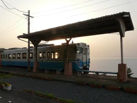 下灘駅 キハ47形 2