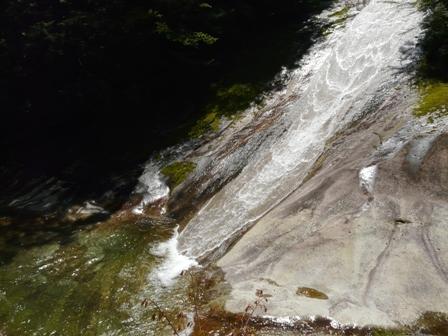 滑床渓谷 6 雪輪の滝