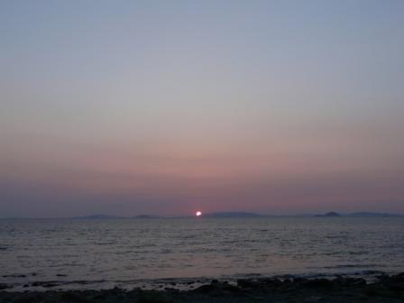 五色浜公園 夕景 5