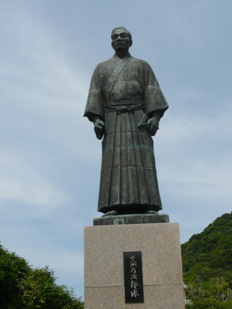 足摺岬 2  ジョン万次郎銅像